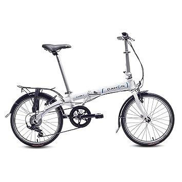 "Dahon Vybe D7 Bicicleta Plegable, Unisex Adulto, Blanco Cloud, 20"""