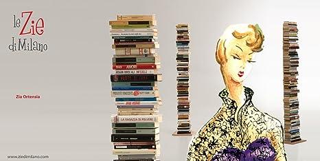 Zia ortensia libreria a colonna faggio tinto nero le zie di