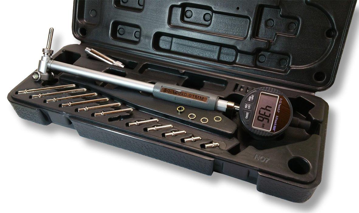 50 /à 160mm JPM OUTILLAGES VERIFICATEUR dALESAGE PRO DIGIT Cap
