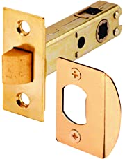 Prime-Line Products E 2281 Mortise Latch Bolt, Square Drive Brass Plated