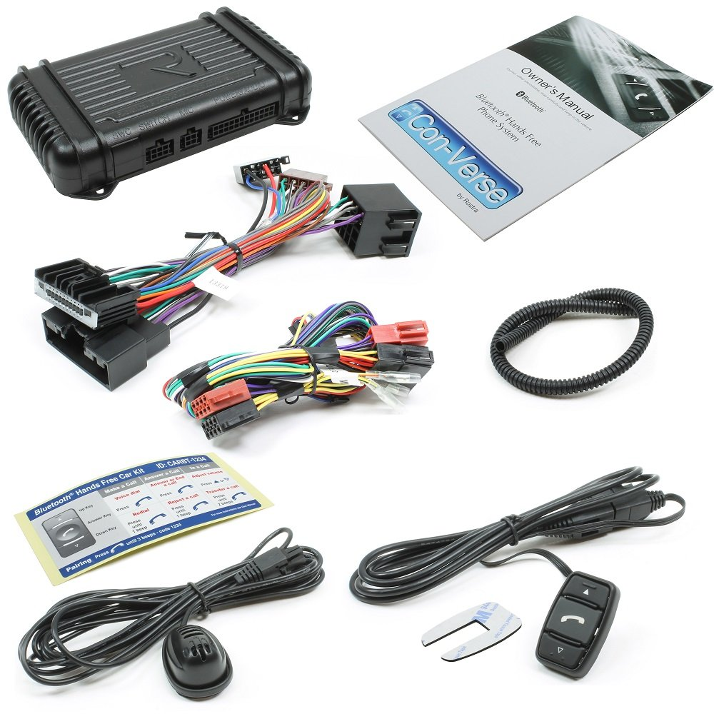 Rostra 250-7504-GM2 Con-Verse Bluetooth Control Switch for Select Buick/Cadillac/Chevrolet/GMC/Pontiac/Saab/Saturn/Suzuki Vehicles