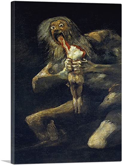 francisco goya saturn devouring his son