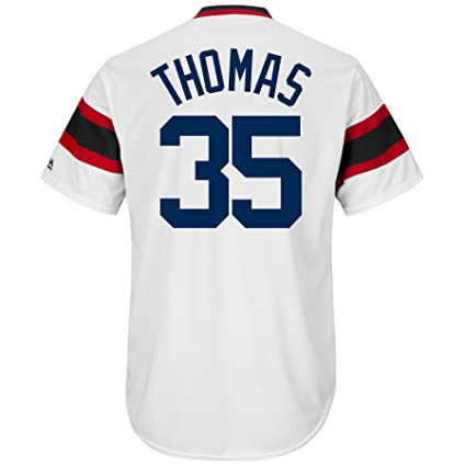 new concept b3713 a6bb1 Majestic Frank Thomas Chicago White Sox Cooperstown Coolbase Jersey