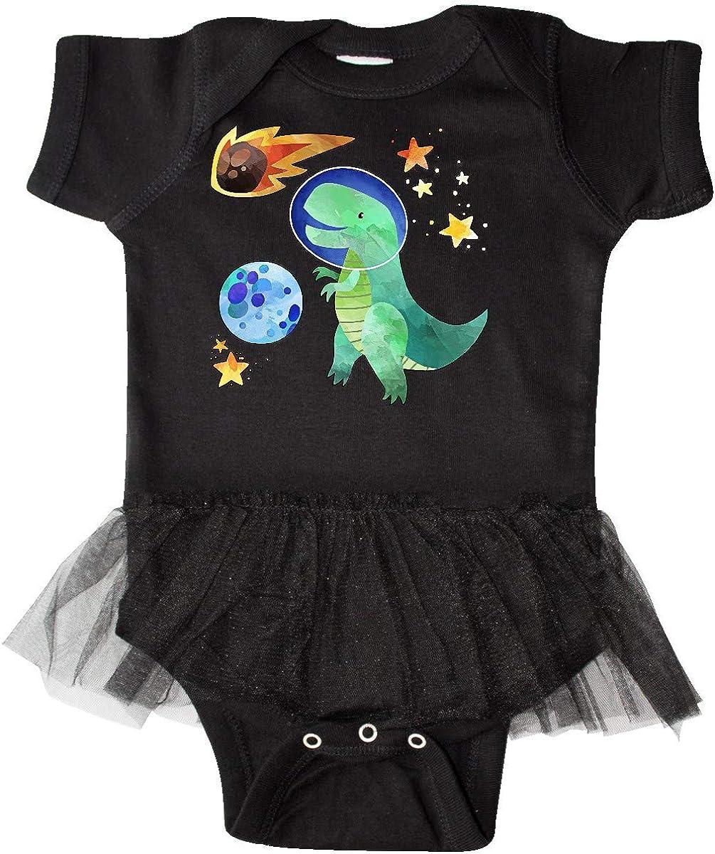 Meteor Fun Space Dinosaur Infant Tutu Bodysuit inktastic Tyrannosaurus Rex Vs