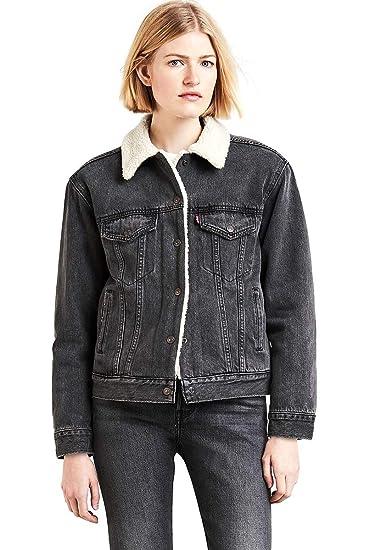 Levi's Women's Boyfriend Sherpa Trucker Jacket ** Continue