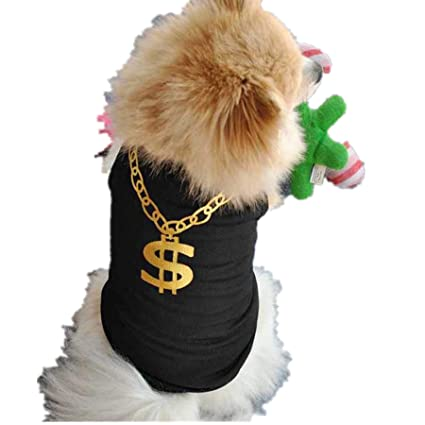 19a53ab03 Summer Pet Clothes Shirt Dog T Shirt Cat Poodle Puppy Bulldog Vest Shirt  Apparel