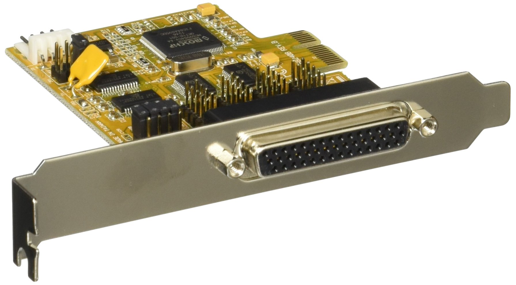 StarTech.com 4-Port PCI Express RS232 Multiport Serial Card with Power Output and ESD Protection PEX4S553S