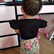Amazon.com: INHoney - Body de manga corta para niña: Clothing