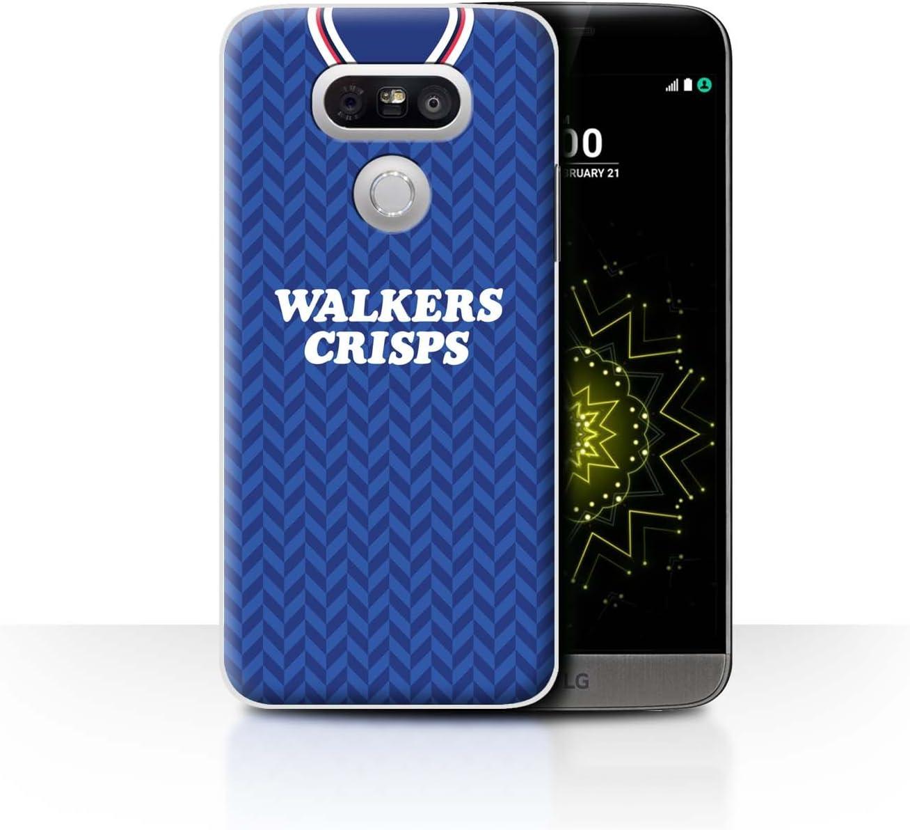 Phone Case/Cover/Skin/LG-CC/Retro Camiseta de fútbol/Kit división ...