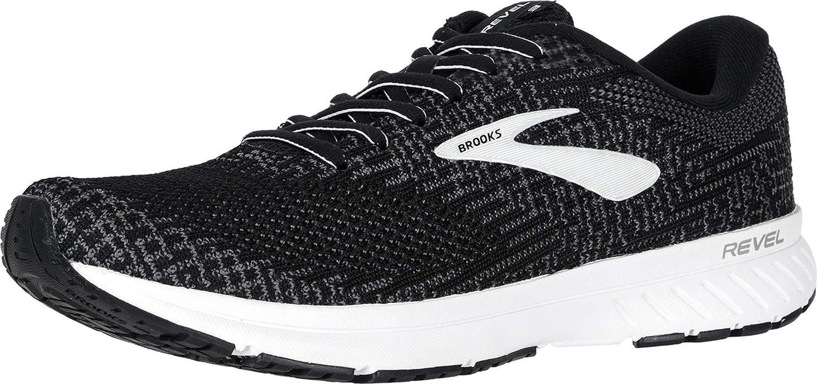 Brooks Revel 3, Zapatillas de Running para Hombre, Negro (Black/Blackened Pearl/White 012), 40 EU: Amazon.es: Zapatos y complementos