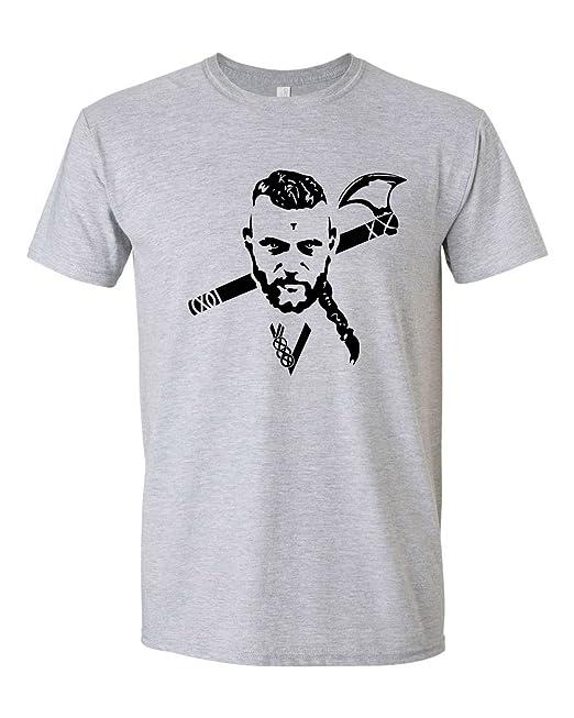 a1e9570b Viking Printed T-shirt, Fan of Vikings and Ragnar Lothbrok: Amazon.co.uk:  Clothing