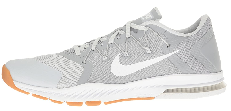 huge discount 47ebc 2cd4e Amazon.com   Nike Men s Zoom Train Complete Training Shoe Wolf Grey White -  Pure Platinum 882119-005   Track   Field   Cross Country