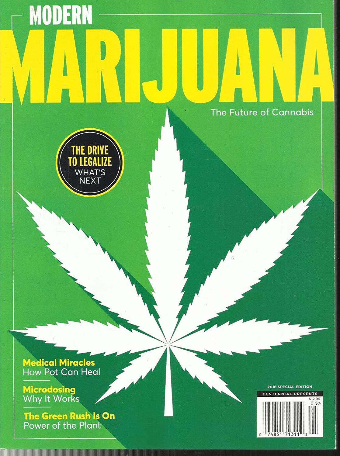 MODERN MARIJUANA MAGAZINE THE FUTURE OF CANNABIS, 2018 SPECIAL EDITION s3457