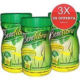 3X BENEFIBRA - Integratore di Fibra 100% Vegetale in polvere - BARATTOLO DA 155g