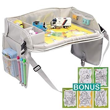 Amazon.com: YOUMILE - Bandeja de viaje para niños, asiento ...