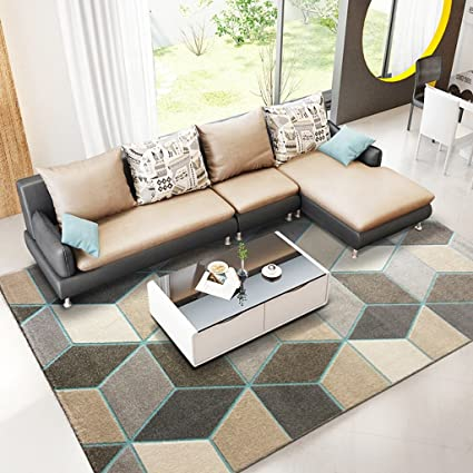 Amazon.com: @home rugs Rectangle Rugs, Geometric Patterns ...