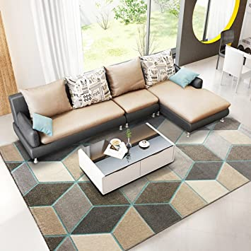Amazoncom At Home Rugs Rectangle Rugs Geometric Patterns Living - Dining-room-rug-design