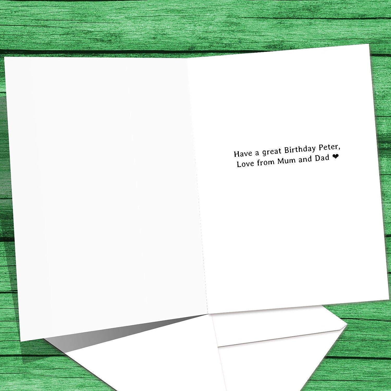 Personalised 16th Birthday Card Son Xbox Game 13th 18th 21st Grandson Nephew