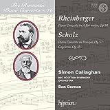 Rheinberger: Piano Concerto [Simon Callaghan; BBC Scottish Symphony Orchestra; Ben Gernon] [Hyperion: CDA68225]