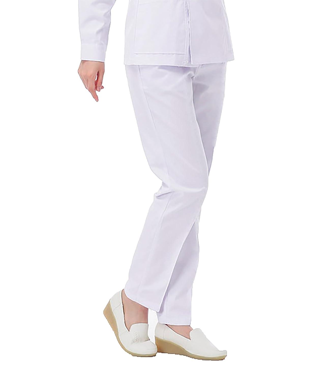 WDF lavoro di medico i pantaloni dottore l'infermiera pantaloni bianco donna pantaloni da lavoro elastico circonferenza
