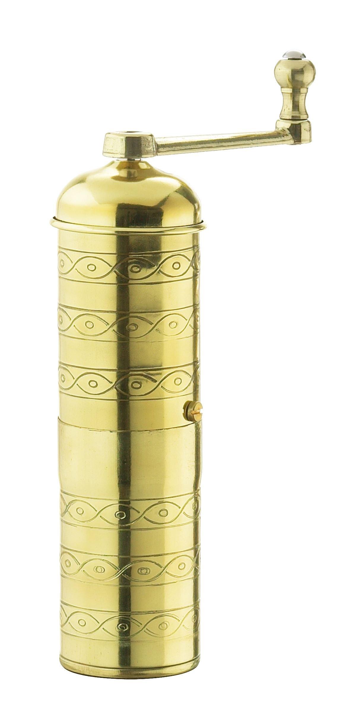 Zassenhaus Espresso and Mocca Grinder Havanna, Brass, 041002 by Zassenhaus