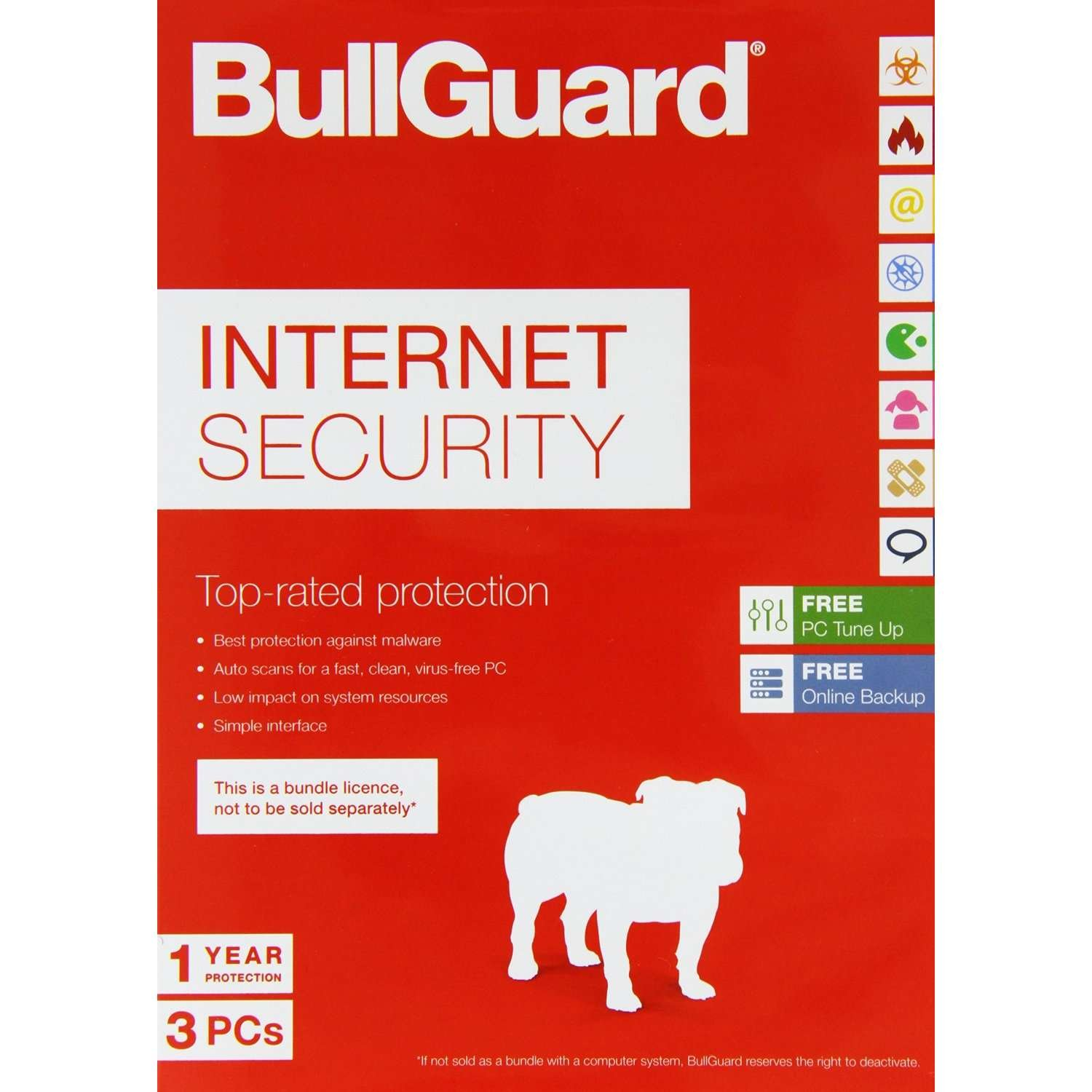 BullGuard Internet Security 2018 for all Windows PC\'s - With Free ...
