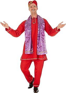 Disfraz para Caballero Indio Bollywood | Precioso Kurta con Tira ...