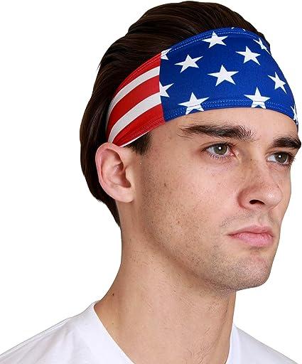 Moisture Wicking Guys Sweatban Monkey Movement Sports Headbands For Men  Women