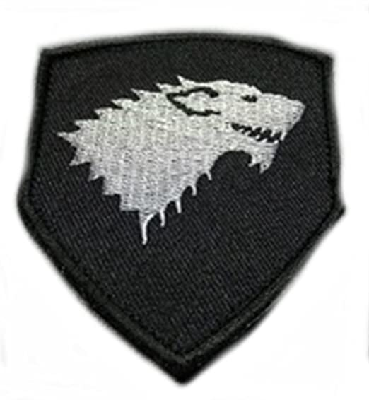 Amazon. Com: superheroes game of thrones house stark direwolf 3.