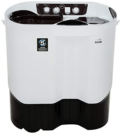 Godrej 8 kg Semi-Automatic Top Loading Washing Machine (WS EDGEPRO 800ES Shell Wine Red, Wine Red)