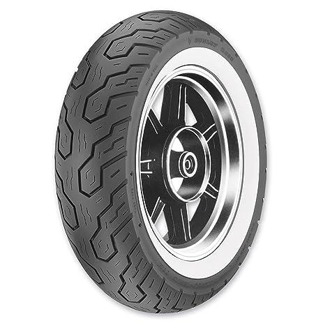 dunlop k555 wide whitewall rear tire