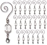 BANBERRY DESIGNS Christmas Ornament Hooks - Clear