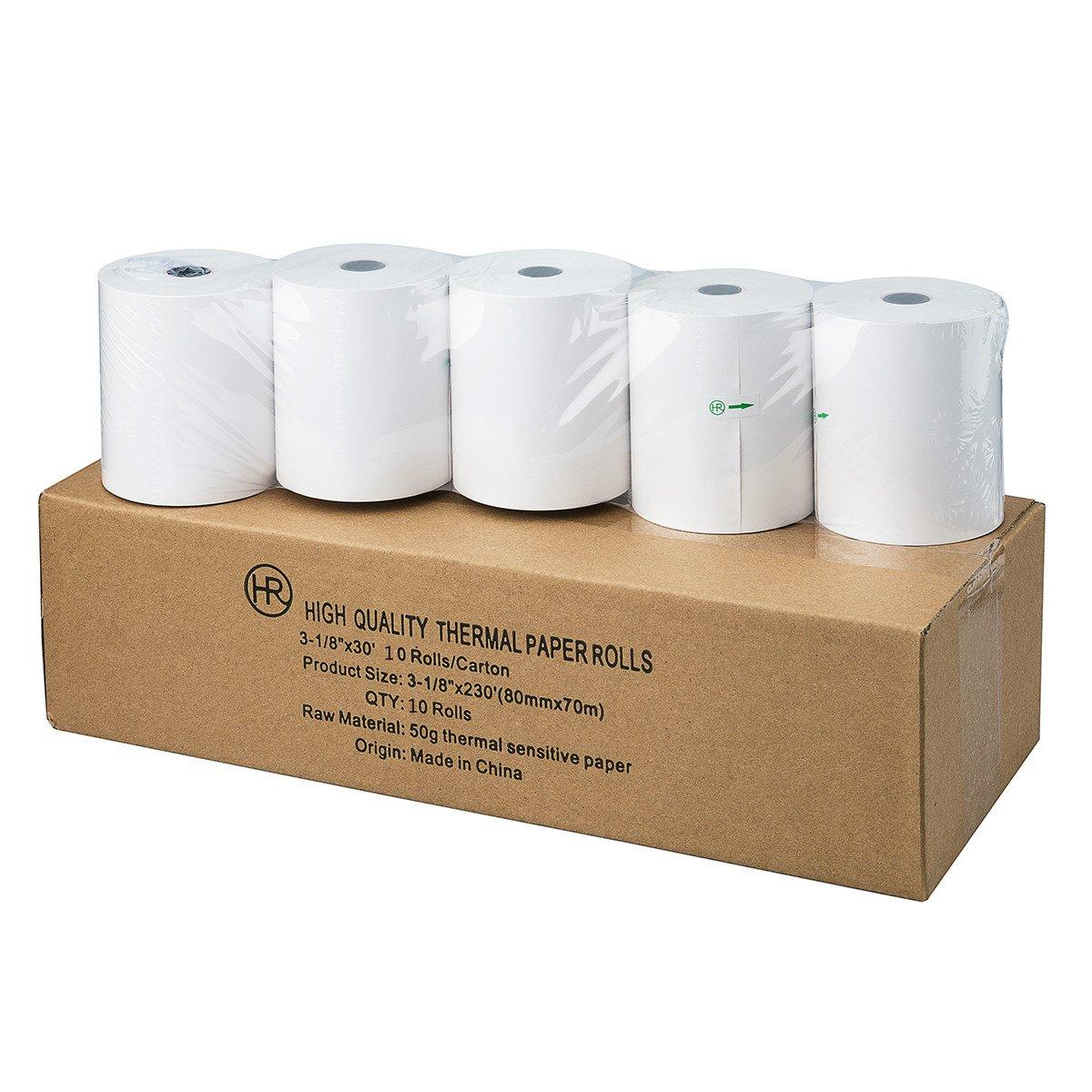 Thermal Printer Rolls 3 1/8\