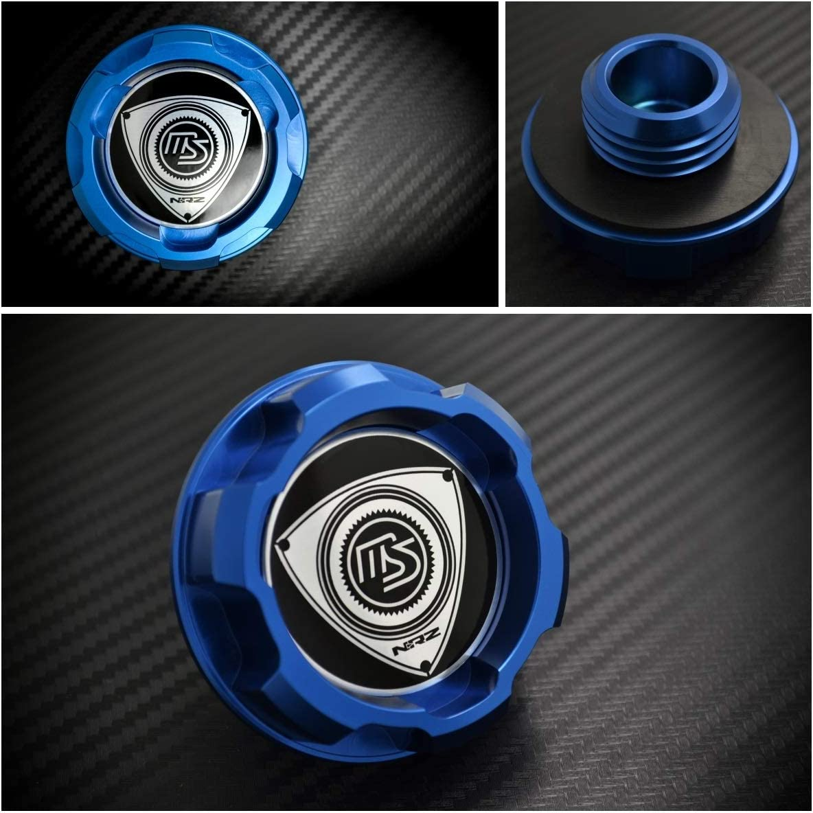 Fit for Protege FSDET Miata MX5 MX5 Color : Blue Fit for Familia BP 1.8L YJDTYM Aluminium Huile Moteur Cap//Fit for Mazda RX7 RX8 323
