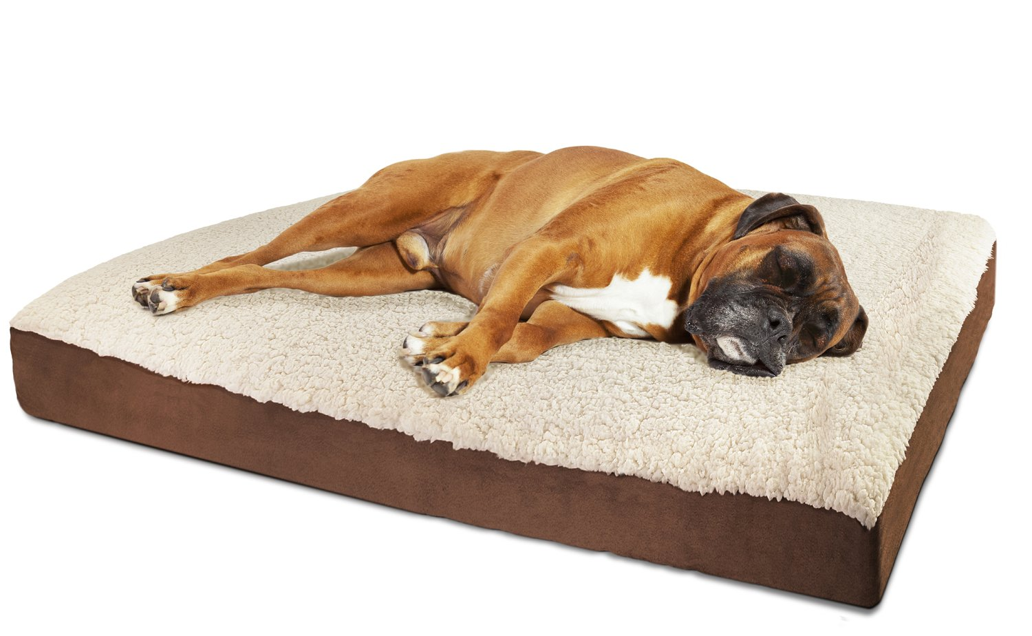 Extra large orthopedic dog beds best price - Amazon Com Oxgord Orthopedic Pet Bed Foam Mattress For Dogs Cats Quilted Rectangular Fits Crate Carrier Extra Large 44 Long X 35 Wide Pet Supplies