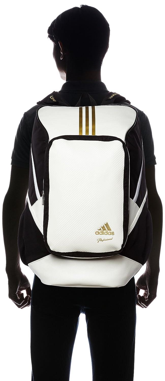 9b560ea032 adidas Professional backpack BIN37 AP2767 (White   Gold Met)  Amazon.ca   Sports   Outdoors