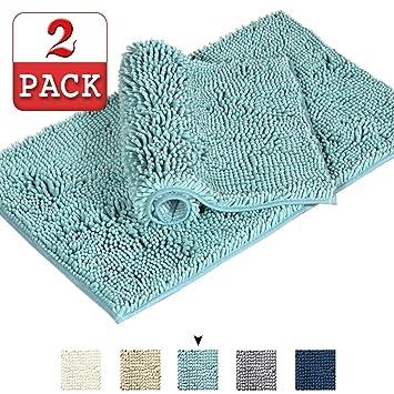 Amazon Com Original Luxury Chenille Bathroom Rug Mat Extra Soft And