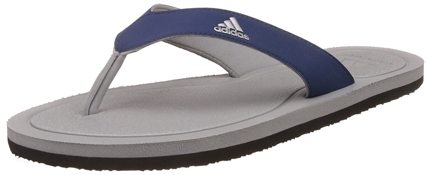 2aee47a406fc0 Adidas Men s Stabile Silvmt and Mysblu Flip-Flops and House Slippers - 6  UK India (39.33 EU) (BI4314)  Buy Online at Low Prices in India - Amazon.in