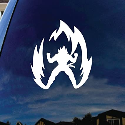 Super saiyan goku car window vinyl decal sticker 4