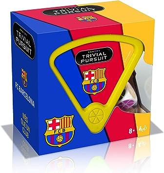 Winning Moves Trivial Pursuit FC Barcelona Edición Viaje Juego de Cartas-versión Española: Amazon.es: Juguetes y juegos