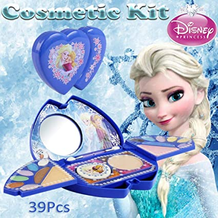 Girls Makeup Toy Set 39Pcs Disney Frozen Kit De Maquillaje ...