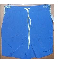 ada0e1580d Roundtree and Yorke Size Medium Men's Swim Trunks Blue