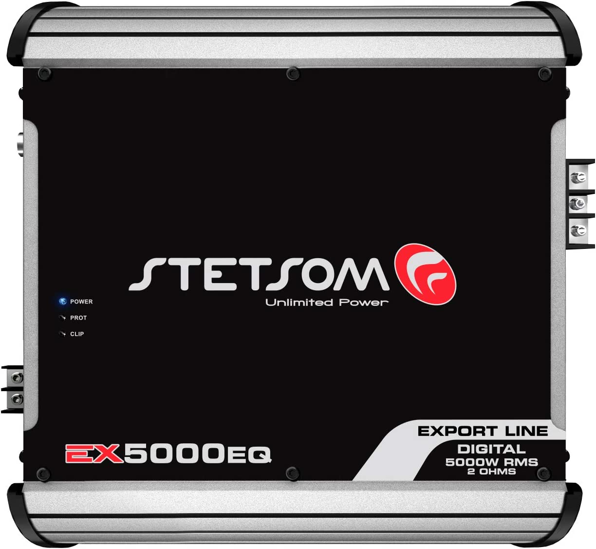 Stetsom EX 5000 EQ 1 Ohm Class D Full Range Mono Amplifier