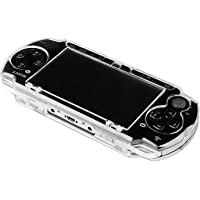 eForCity® Clip on Crystal Case Compatible With Sony PSP 3000, Clear