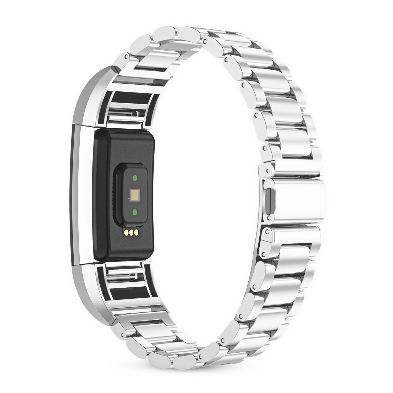 For fitbit charge 2 band, 316L Stainless Steel Replacement Accessory Bracelt Band.Small,Large Metal Bands for Fitbit Charge 2 band/Charge 2 Bands/Fitbit Charge 2 by WOCOOL (Image #2)