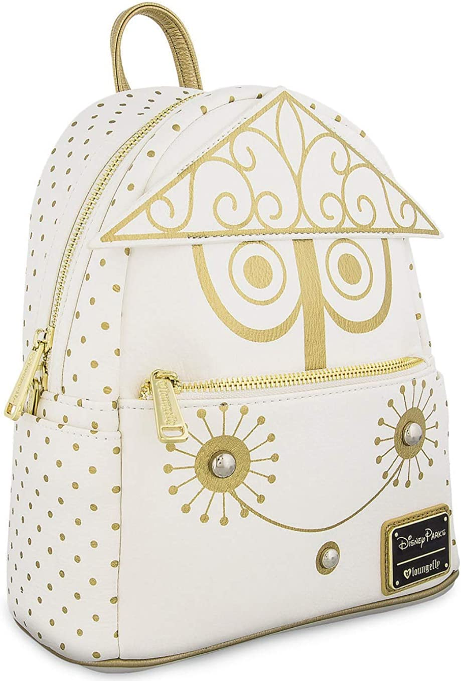 Loungefly Disney It's A Small World Clock Face Mini Backpack