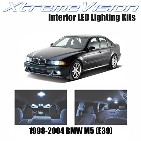 xtremevision BMW M5 (E39) 1998 – 2004 (16 piezas) blanco frío paquete