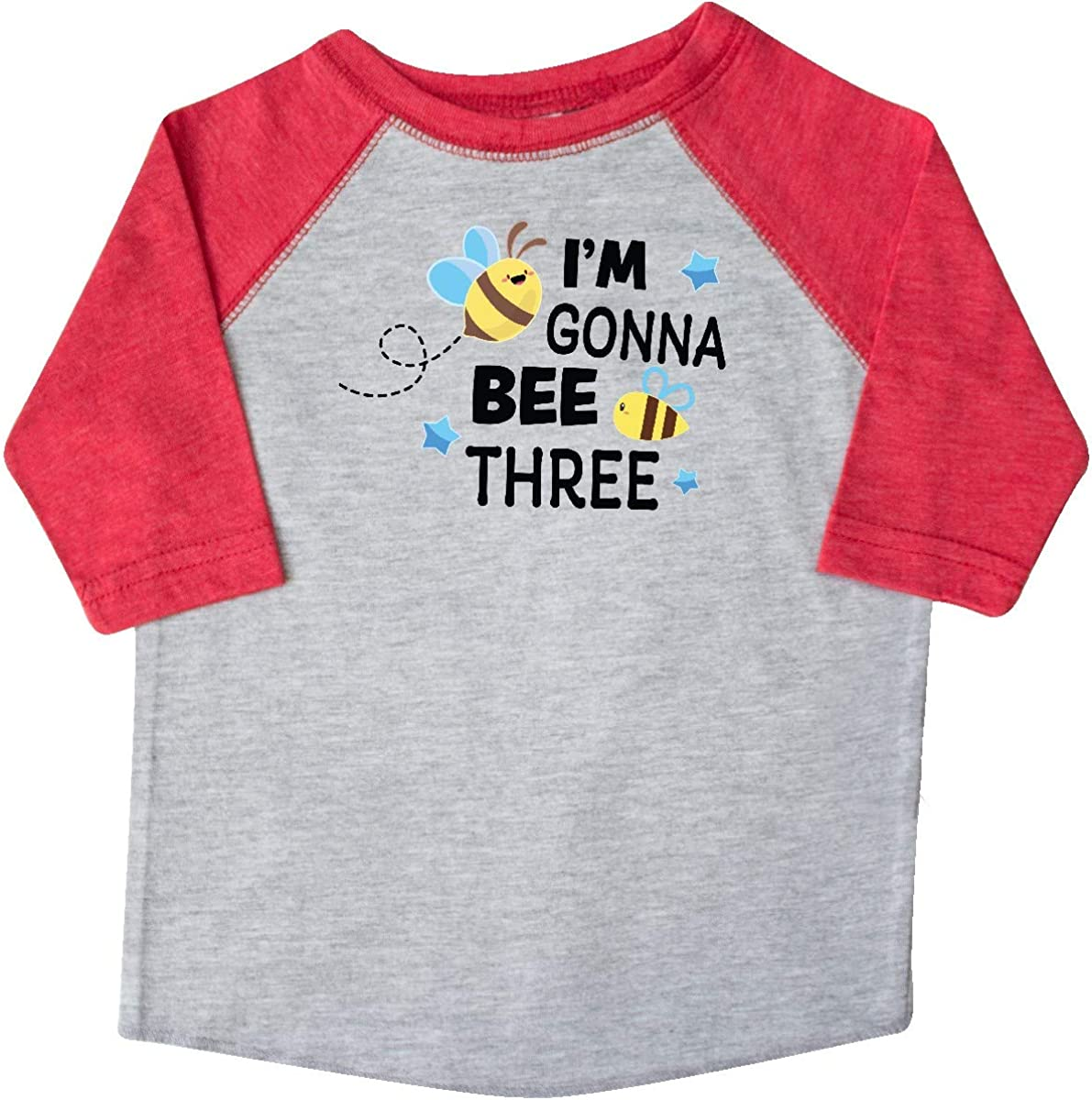 inktastic Im Gonna Bee 3 with Cute Bees Toddler T-Shirt