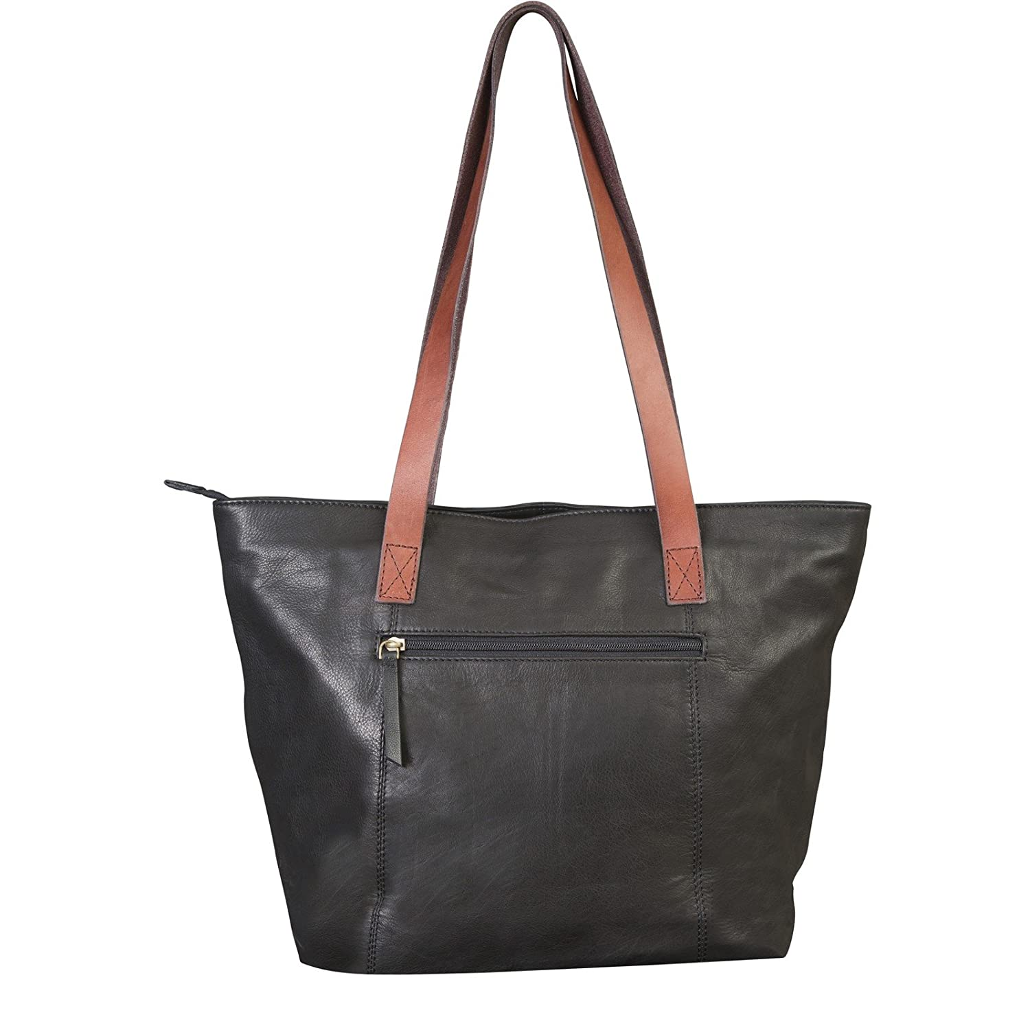 Canyon Outback 17-Inch Harper Canyon Leather Tote, Black, One Size ... 86bfc19ecf