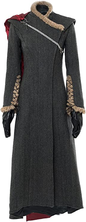 MingoTor Daenerys Dany Vestido Madre de Dragones Outfit Disfraz ...